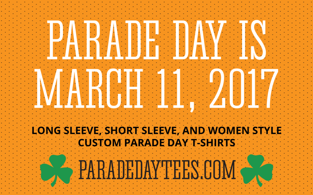Parade Day Tees is accepting custom orders!